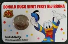 Extremely Rare! Disney Uncle Scrooge Geluksdubbeltje Dutch First Cent Coin 2017