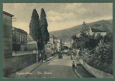 Calabria. CASTROVILLARI, Cosenza. Via Roma. Cartolina d'epoca viaggiata nel 1963