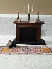 Dollhouse miniatures Furniture And Accessories/chimney/livingroom