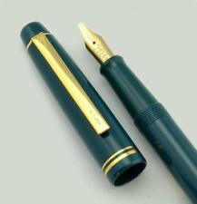 Pilot 78G Fountain Pen - Teal, BB Italic Stub Nib, w Converter (New, Japan)