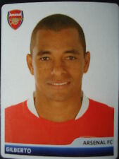 Panini 84 Gilberto Arsenal FC UEFA CL 2006/07