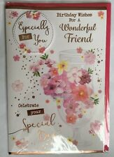 Birthday Wishes For A Wonderful Friend - Especially For You - Birthday Card