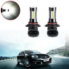 2pcs 9006 HB4 80W High Power LED Fog Light Lamp Bulb 6500K Super White Bright CZ