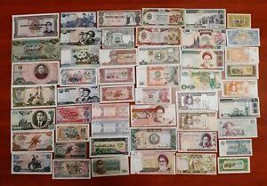 50 Banconote dal Mondo FDS/UNC (Tutte Diverse)  Lotto-04