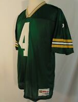 Brett Favre #4 Green Bay Packers Jersey Mens XL 50  Vintage Wilson 80's Green