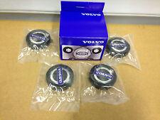 GENUINE VOLVO IRON MARK HUB CAP KIT ALLOY WHEEL S80 V70 S60 XC70 S40 C70 V50 C30