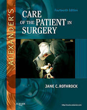 Alexander's Care of the Patient in Surgery, 14e 14th Edition Rothrock Hardcover
