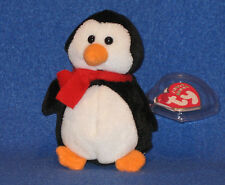 TY LIL' SLEDS THE PENGUIN (WALGREEN'S EXCLUSIVE) JINGLE BEANIE BABY - MINT TAGS