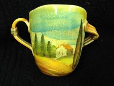 Modigliani Sogno Toscano Mug with Two Handles - Set of 2