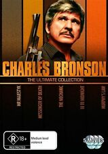 Charles Bronson Collection - 10 To Midnight / Mechanic / Messenger Of Death / Mr Majestyk / Murphys Law (DVD, 2010, 5-Disc Set)