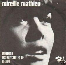 record single MIREILLE MATHIEU ENSEMBLE / BELIZE 45