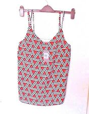 TU  SIZE 12  PRETTY STRAPPY LINED TOP  BNWT  RRP £14.00