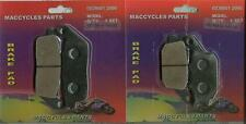Honda Disc Brake Pads VT1300 VTX1300 2003-2014 Front & Rear (2 sets)