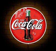 Segno distintivo di Coca Cola Luce a LED di Man Grotta Caffè Bevanda SALA GIOCHI REGALO PER RAGAZZI