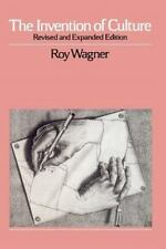 The Invention of Culture by Roy Wagner (English) Paperback Book**NEW**6436**