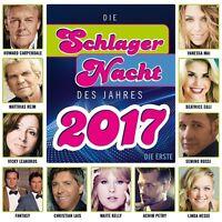 DIE SCHLAGERNACHT DES JAHRES 2017-DIE ERSTE (DJ ÖTZI/ANDREA BERG/NIK P/) CD NEU