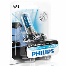 Philips diamond vision 5000K ampoules phare voiture HB3 (single pack)