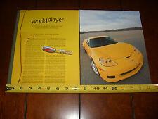 2005 CORVETTE Z06 500HP - ORIGINAL ARTICLE
