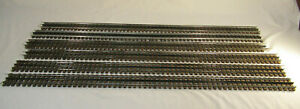 """6 O Scale Gargraves Straight Track - 37"""" long"""