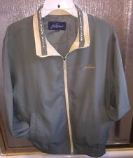 Jack Nicklaus Golf Jacket Green & Yellow Korean Size 100 Embroidered Autograph