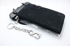 Handy Hülle iPhone 6+ mit Clip-Chain Silver Flat Karabiner