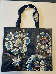 VERA Bradley FLORAL BURST MARKET Tote RECYCLABLE shopping Gift bag