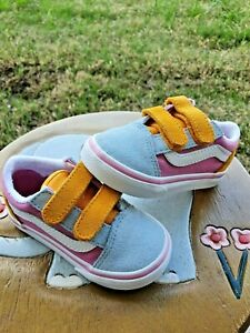 """Vans """"Off the Wall""""  Girls'  BRAND NEW Toddler 5.5C"""