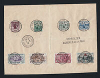 """FRANCE STAMP 148/154 + 156 """" ORPHELINS 7 TIMBRES + CROIX ROUGE""""OBLITERES TB T613"""