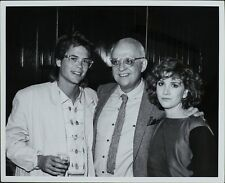 Rob Lowe, George Christy, Melissa Gilbert ORIGINAL PHOTO HOLLYWOOD Candid 3190