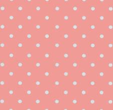 Klebefolie - Möbelfolie Rosa Punkte Dots 0,45 m x 2 m Dekorfolie Selbstklebend