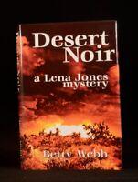 2001 Desert Noir Betty Webb First Edition Lena Jones