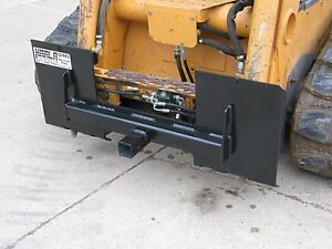 "Skid Steer Loader Quick Attach Plate Receiver Hitch 2"" Bobcat, Case, John Deere"