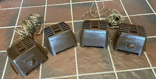 New listing Lot 2 Rare Pairs Vintage Pioneer Ts-35 Convertible Surface Deck Speakers Brown