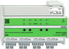 EIB KNX MERTEN MEG6710-0004 UNIVERSALDIMMAKTOR 4 x 250W LED NEU + OVP + SIEGEL
