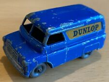 Matchbox Lesney No 25 Blue Dunlop Bedford 12CWT Van