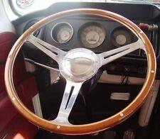 VW Bay window, early bay wood rim steering wheel  1968 - 1973