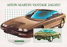 Aston Martin Vantage Zagato Prospekt