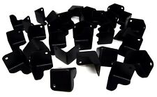"32 Pieces Metal Cabinet Corner Black For DJ and Speaker Boxes HA-48BK 1.5""x1.5"""