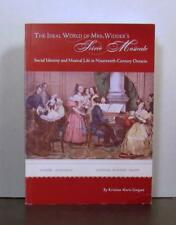 Social Identity and Musical Life, 19th Century Ontario, Soiree Musicale