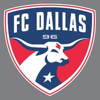 FC Dallas Vinyl Sticker / Decal *MLS *Soccer *Western * Texas * Football Club