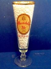 YUENGLING BEER  NOS CHESTERFIELD ALE 157TH YEAR PILSNER GLASS