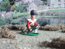 Napoleonic Airfix Highlander kneeling  1:32 painted