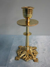 Klassische einarmige Deko-Kerzenleuchter aus Messing