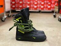 Nike SF AF1 Air Force One Black/Volt Mens High Top Shoes AA1128 003 NEW Multi Sz