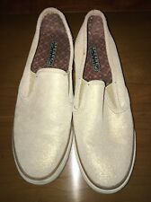 SPERRY TOP SIDER Womens Designer Shoes Leather Penny Loafers 8