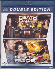 2 Blu-ray Box DEATH RACE 1 + 2 collection Jason Statham nuovo