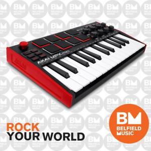 Akai MPK Mini Mk3 Portable Key & Pad USB MIDI Controller - Brand New