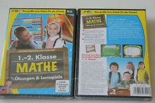 1.-2. Klasse Mathe Übungen und Lernspiel  (PC-CD)    New    Neu