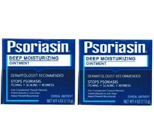2x Psoriasin Multi-Sintomo Sollievo Unguento psoriasi (113 G) UK Stock NEW LOOK
