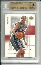 BGS 9.5 Gem Mint JASON KIDD 2003 Upper Deck Ultimate Collection #66 Nets serial